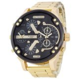 Diesel DZ7314 Steel Gold-Black