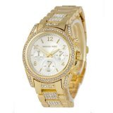 Michael Kors Brillian Gold/White